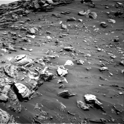 Nasa's Mars rover Curiosity acquired this image using its Right Navigation Camera on Sol 2695, at drive 300, site number 79