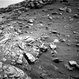 Nasa's Mars rover Curiosity acquired this image using its Right Navigation Camera on Sol 2695, at drive 306, site number 79