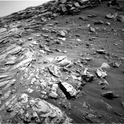 Nasa's Mars rover Curiosity acquired this image using its Right Navigation Camera on Sol 2695, at drive 312, site number 79