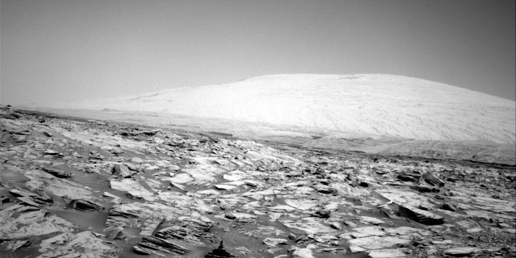 Nasa's Mars rover Curiosity acquired this image using its Right Navigation Camera on Sol 2697, at drive 360, site number 79