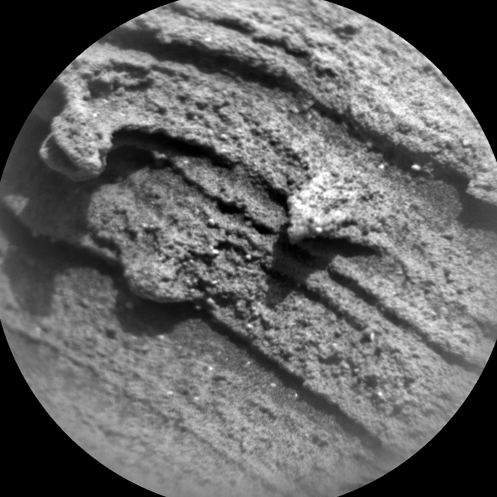 Nasa's Mars rover Curiosity acquired this image using its Chemistry & Camera (ChemCam) on Sol 2697, at drive 360, site number 79
