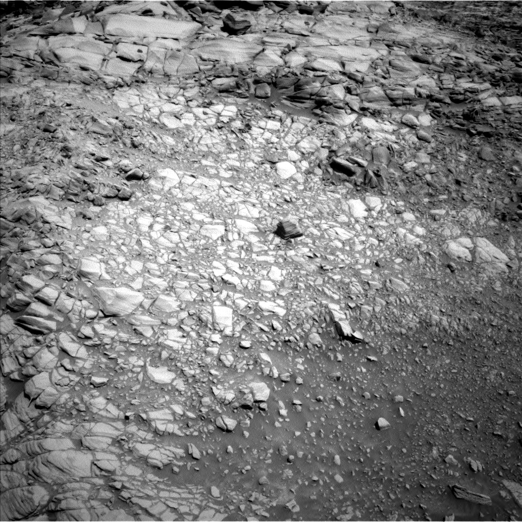 Nasa's Mars rover Curiosity acquired this image using its Left Navigation Camera on Sol 2698, at drive 432, site number 79