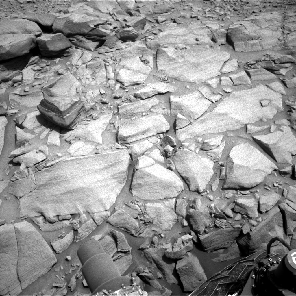 Nasa's Mars rover Curiosity acquired this image using its Left Navigation Camera on Sol 2698, at drive 474, site number 79