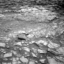 Nasa's Mars rover Curiosity acquired this image using its Right Navigation Camera on Sol 2698, at drive 366, site number 79