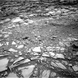 Nasa's Mars rover Curiosity acquired this image using its Right Navigation Camera on Sol 2698, at drive 378, site number 79