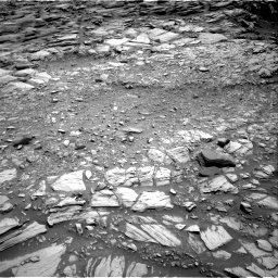 Nasa's Mars rover Curiosity acquired this image using its Right Navigation Camera on Sol 2698, at drive 390, site number 79