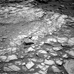 Nasa's Mars rover Curiosity acquired this image using its Right Navigation Camera on Sol 2698, at drive 396, site number 79