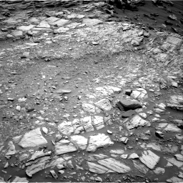 Nasa's Mars rover Curiosity acquired this image using its Right Navigation Camera on Sol 2698, at drive 402, site number 79