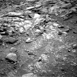 Nasa's Mars rover Curiosity acquired this image using its Right Navigation Camera on Sol 2698, at drive 456, site number 79