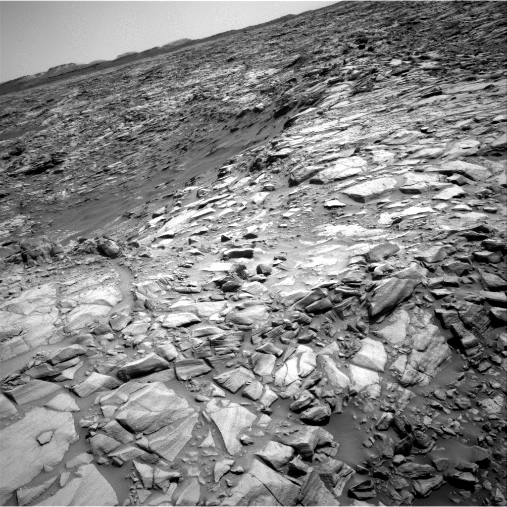 Nasa's Mars rover Curiosity acquired this image using its Right Navigation Camera on Sol 2698, at drive 474, site number 79