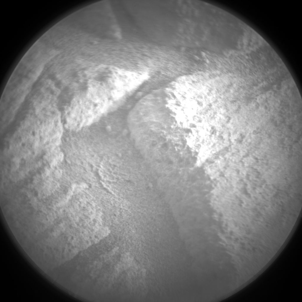 Nasa's Mars rover Curiosity acquired this image using its Chemistry & Camera (ChemCam) on Sol 2700, at drive 588, site number 79