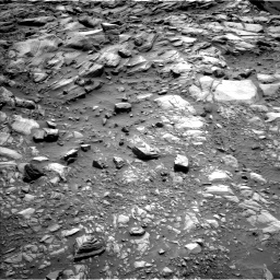 Nasa's Mars rover Curiosity acquired this image using its Left Navigation Camera on Sol 2700, at drive 516, site number 79