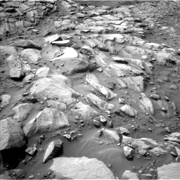 Nasa's Mars rover Curiosity acquired this image using its Left Navigation Camera on Sol 2700, at drive 558, site number 79