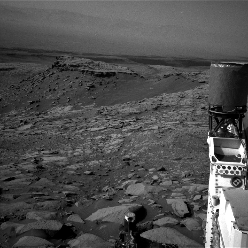 Nasa's Mars rover Curiosity acquired this image using its Left Navigation Camera on Sol 2700, at drive 588, site number 79