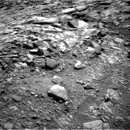 Nasa's Mars rover Curiosity acquired this image using its Right Navigation Camera on Sol 2700, at drive 480, site number 79