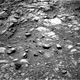 Nasa's Mars rover Curiosity acquired this image using its Right Navigation Camera on Sol 2700, at drive 528, site number 79