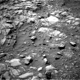 Nasa's Mars rover Curiosity acquired this image using its Right Navigation Camera on Sol 2700, at drive 540, site number 79