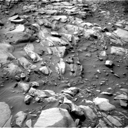 Nasa's Mars rover Curiosity acquired this image using its Right Navigation Camera on Sol 2700, at drive 552, site number 79