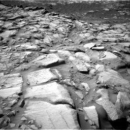 Nasa's Mars rover Curiosity acquired this image using its Right Navigation Camera on Sol 2700, at drive 570, site number 79