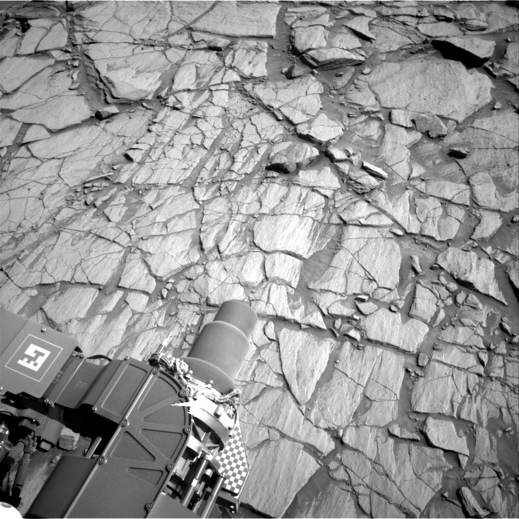 Nasa's Mars rover Curiosity acquired this image using its Right Navigation Camera on Sol 2700, at drive 576, site number 79