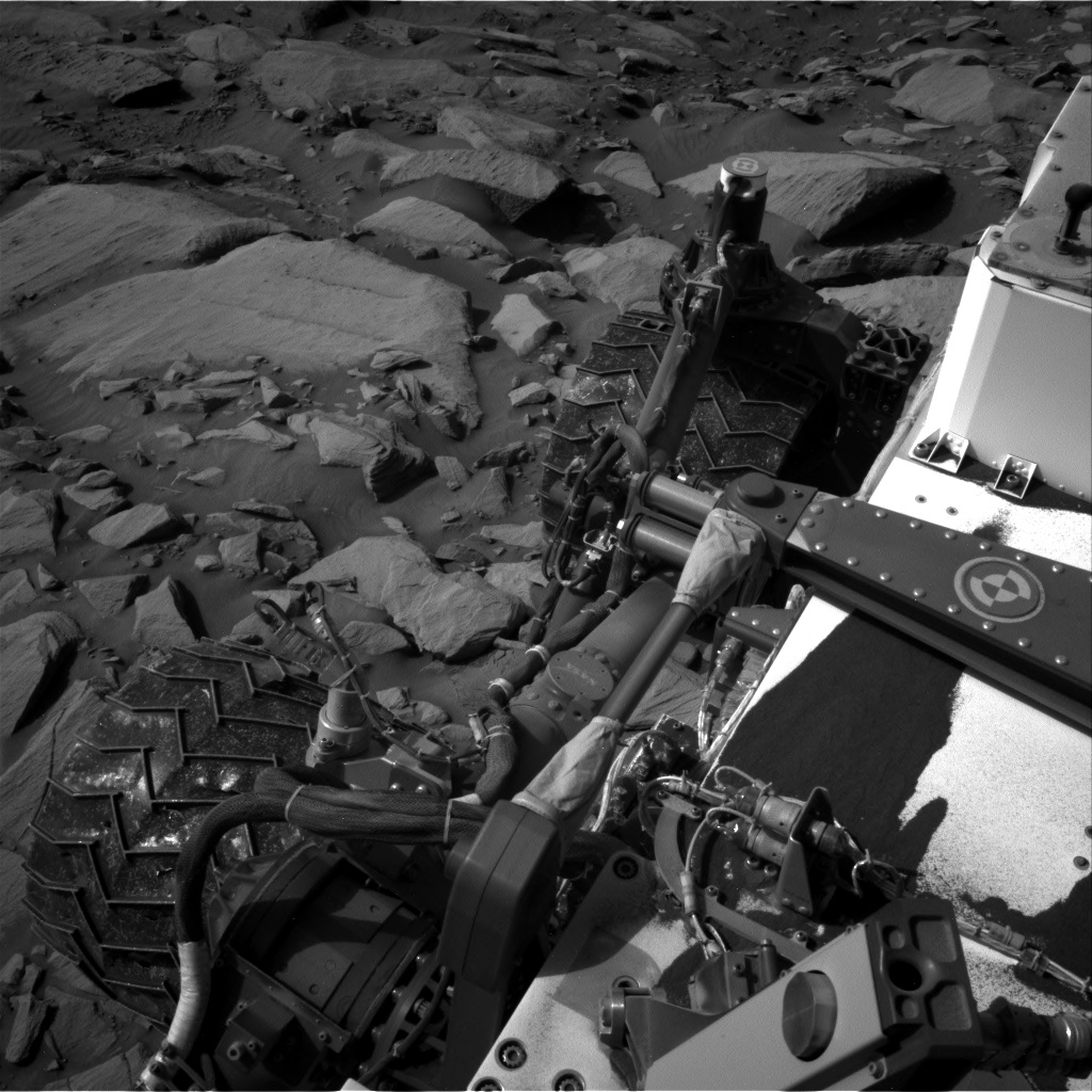 Nasa's Mars rover Curiosity acquired this image using its Right Navigation Camera on Sol 2700, at drive 588, site number 79