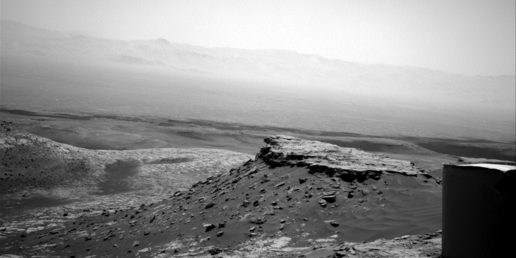 Nasa's Mars rover Curiosity acquired this image using its Right Navigation Camera on Sol 2701, at drive 588, site number 79
