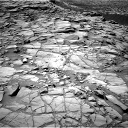 Nasa's Mars rover Curiosity acquired this image using its Right Navigation Camera on Sol 2702, at drive 588, site number 79
