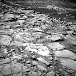 Nasa's Mars rover Curiosity acquired this image using its Right Navigation Camera on Sol 2702, at drive 594, site number 79