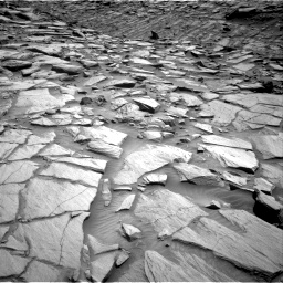 Nasa's Mars rover Curiosity acquired this image using its Right Navigation Camera on Sol 2702, at drive 630, site number 79