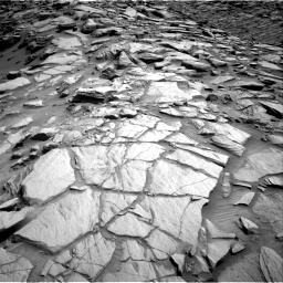 Nasa's Mars rover Curiosity acquired this image using its Right Navigation Camera on Sol 2702, at drive 642, site number 79