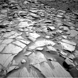 Nasa's Mars rover Curiosity acquired this image using its Right Navigation Camera on Sol 2702, at drive 648, site number 79