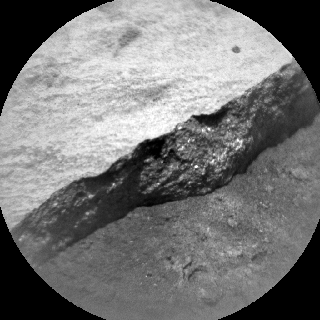 Nasa's Mars rover Curiosity acquired this image using its Chemistry & Camera (ChemCam) on Sol 2704, at drive 654, site number 79