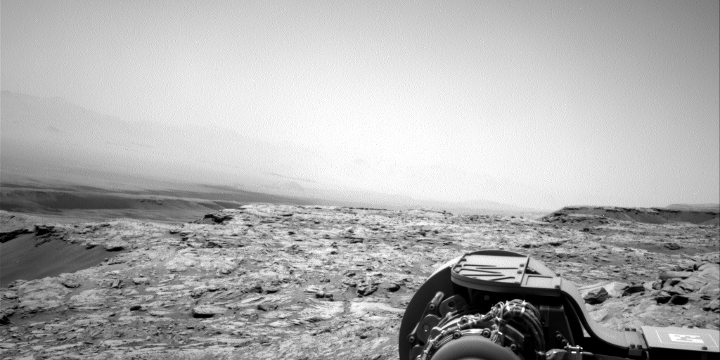 Nasa's Mars rover Curiosity acquired this image using its Right Navigation Camera on Sol 2706, at drive 654, site number 79