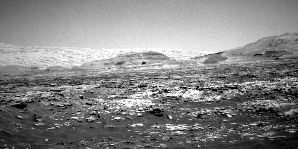 Nasa's Mars rover Curiosity acquired this image using its Right Navigation Camera on Sol 2710, at drive 654, site number 79
