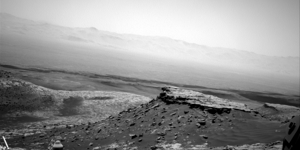 Nasa's Mars rover Curiosity acquired this image using its Right Navigation Camera on Sol 2712, at drive 654, site number 79