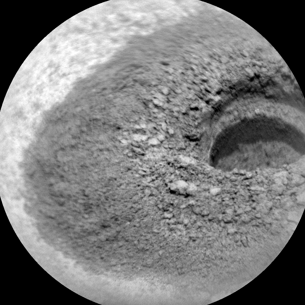 Nasa's Mars rover Curiosity acquired this image using its Chemistry & Camera (ChemCam) on Sol 2713, at drive 654, site number 79