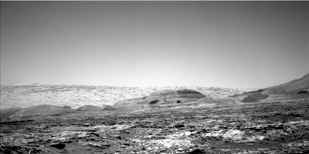 Nasa's Mars rover Curiosity acquired this image using its Left Navigation Camera on Sol 2714, at drive 654, site number 79