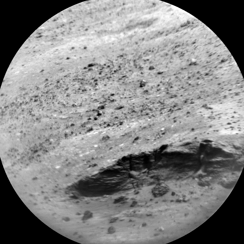 Nasa's Mars rover Curiosity acquired this image using its Chemistry & Camera (ChemCam) on Sol 2715, at drive 654, site number 79
