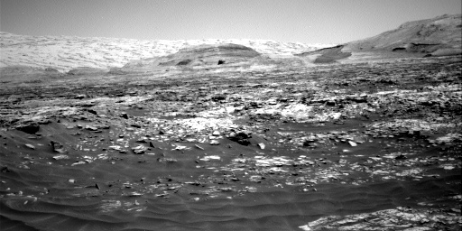 Nasa's Mars rover Curiosity acquired this image using its Right Navigation Camera on Sol 2719, at drive 654, site number 79