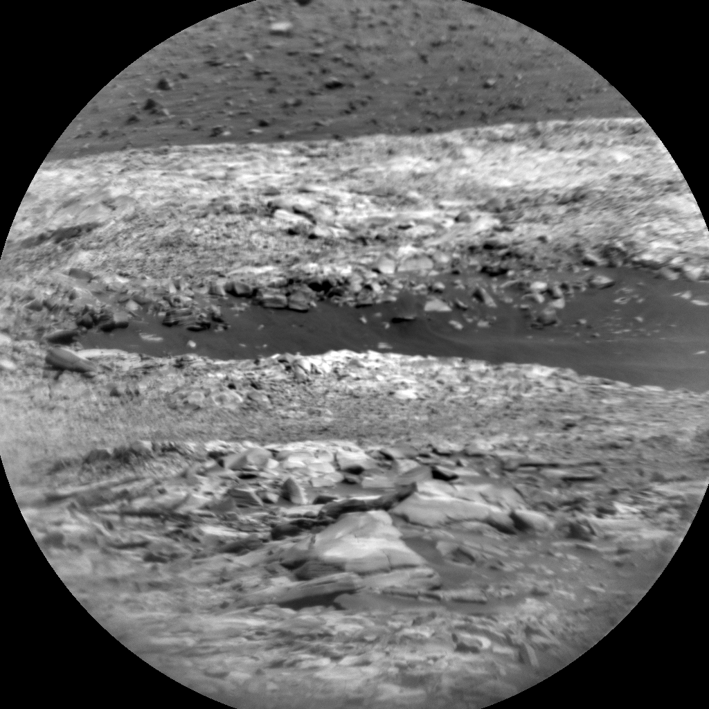 Nasa's Mars rover Curiosity acquired this image using its Chemistry & Camera (ChemCam) on Sol 2719, at drive 654, site number 79