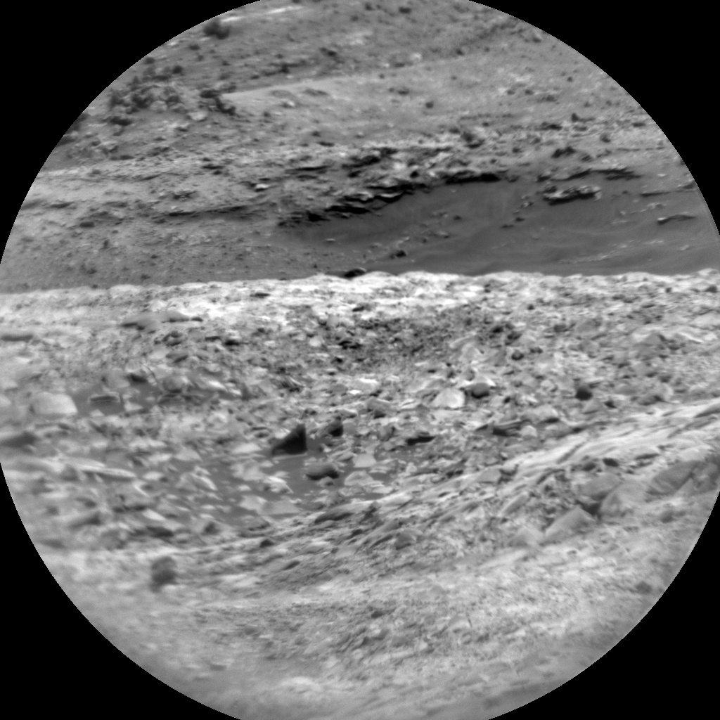 Nasa's Mars rover Curiosity acquired this image using its Chemistry & Camera (ChemCam) on Sol 2720, at drive 654, site number 79
