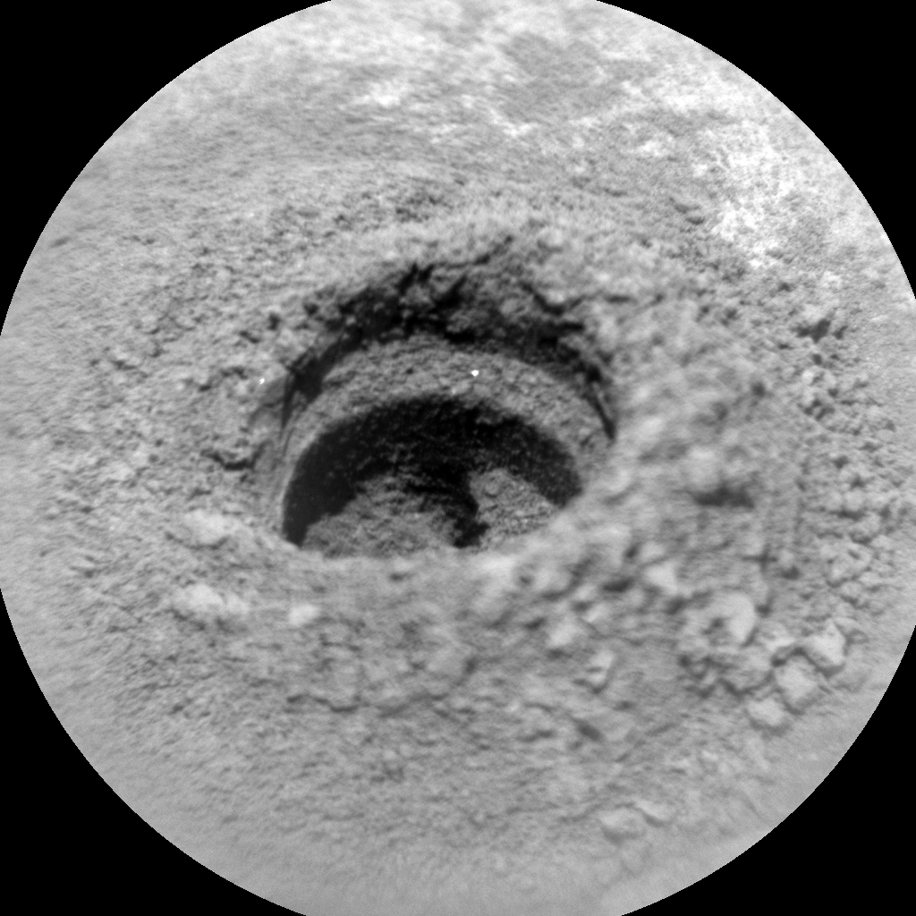 Nasa's Mars rover Curiosity acquired this image using its Chemistry & Camera (ChemCam) on Sol 2721, at drive 654, site number 79