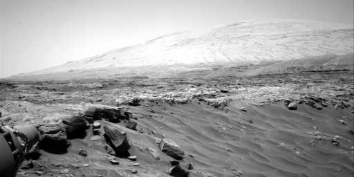 Nasa's Mars rover Curiosity acquired this image using its Right Navigation Camera on Sol 2722, at drive 654, site number 79
