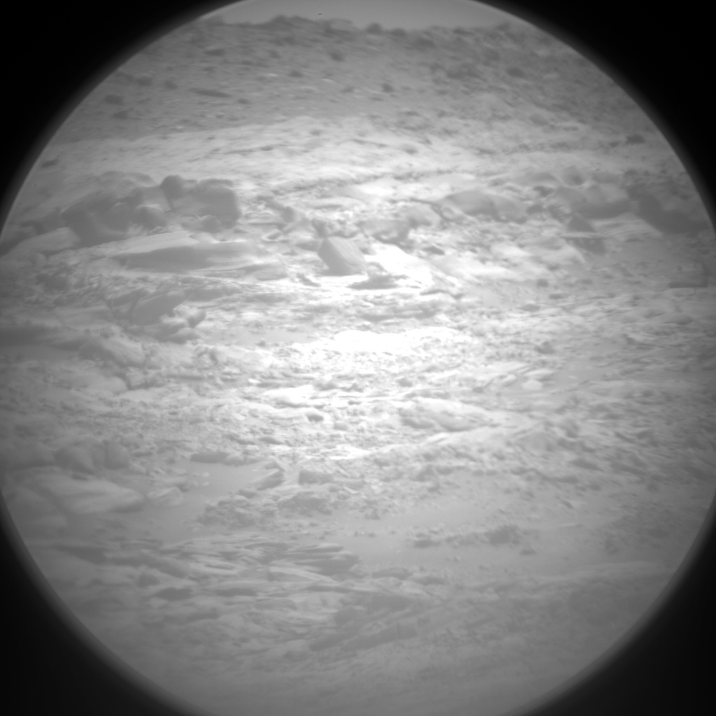 Nasa's Mars rover Curiosity acquired this image using its Chemistry & Camera (ChemCam) on Sol 2723, at drive 654, site number 79