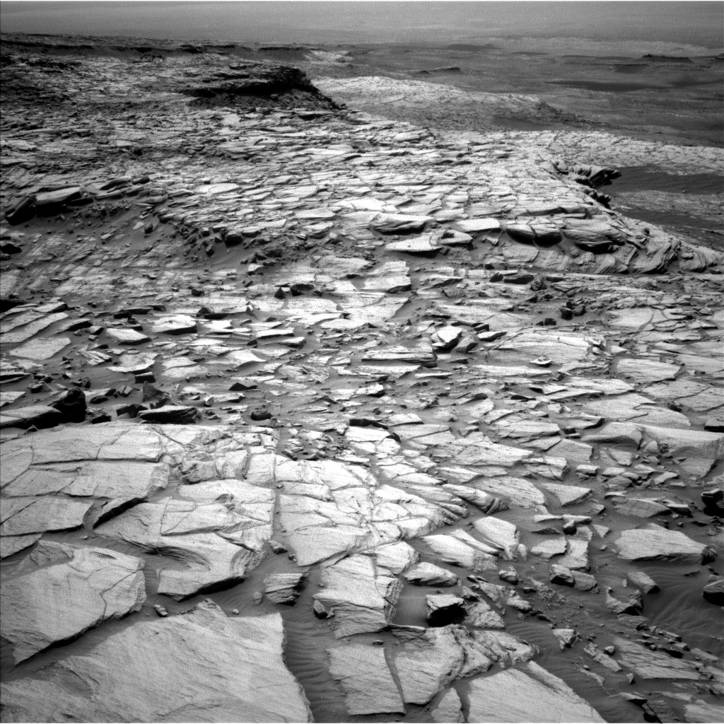 Nasa's Mars rover Curiosity acquired this image using its Left Navigation Camera on Sol 2725, at drive 654, site number 79