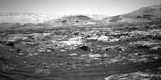 Nasa's Mars rover Curiosity acquired this image using its Right Navigation Camera on Sol 2726, at drive 654, site number 79