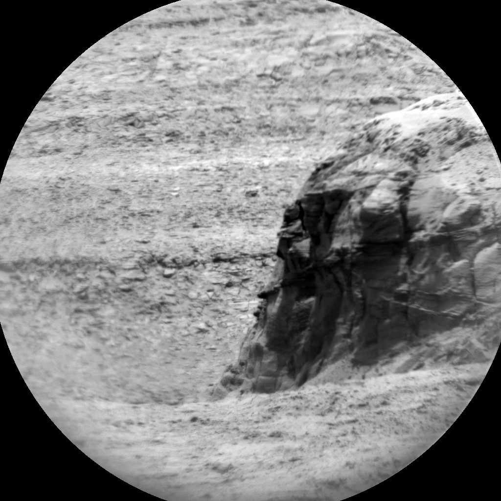 Nasa's Mars rover Curiosity acquired this image using its Chemistry & Camera (ChemCam) on Sol 2726, at drive 654, site number 79