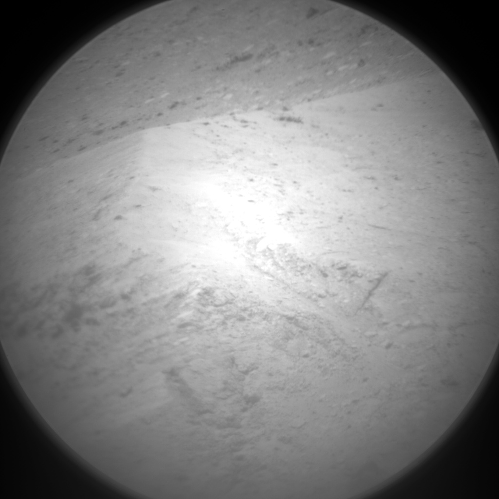 Nasa's Mars rover Curiosity acquired this image using its Chemistry & Camera (ChemCam) on Sol 2728, at drive 654, site number 79