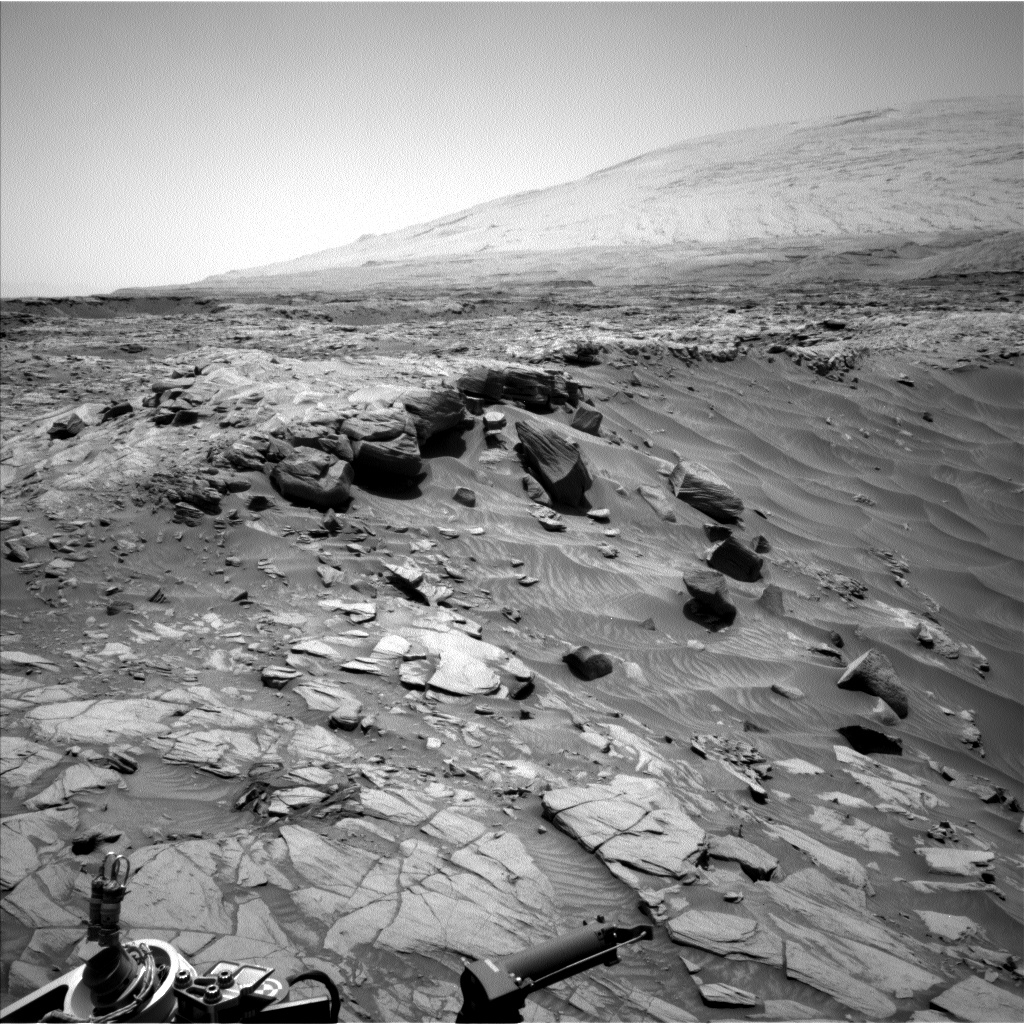 Nasa's Mars rover Curiosity acquired this image using its Left Navigation Camera on Sol 2728, at drive 654, site number 79