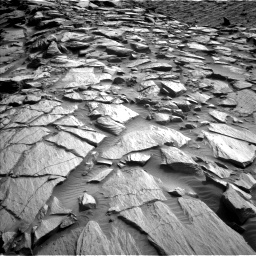 Nasa's Mars rover Curiosity acquired this image using its Left Navigation Camera on Sol 2729, at drive 654, site number 79